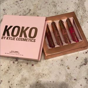 Kylie cosmetics KOKO liquid lip collection set